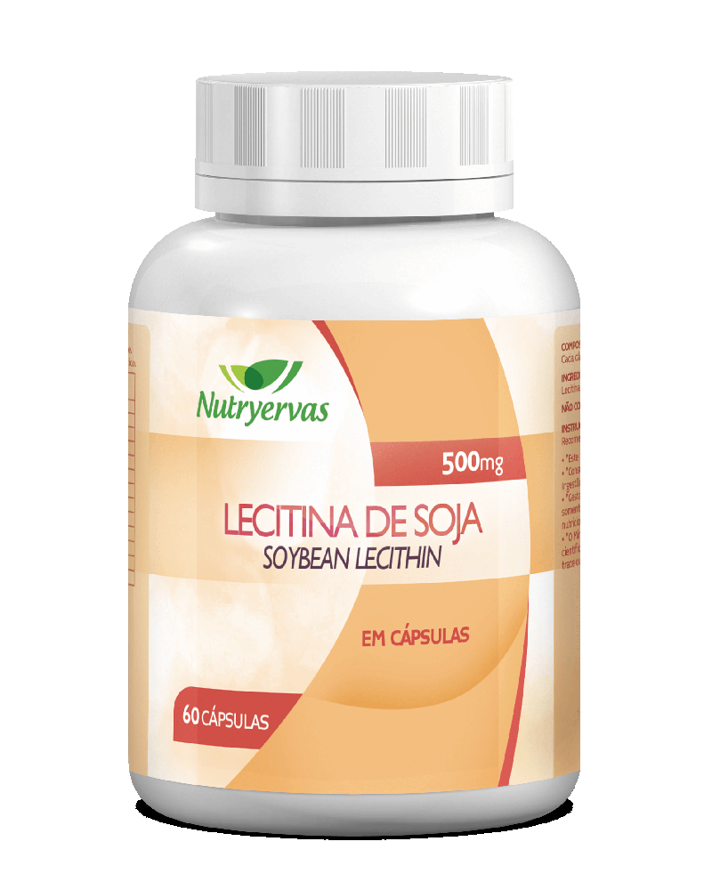 LECITINA DE SOJA 500mg